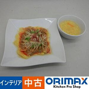 【*訳あり*現状販売】 A04111 食品サンプル 中華料理 ワンタン餃子 玉子スープ 20cm 【店舗用】【ディスプレイ用】【展示用】