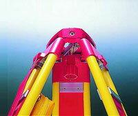 測量用精密木製三脚[PMW2-OL]5/8inch・平面・着脱式マイゾックス【送料無料】【測量用】【測量機器】【精密木脚】【土木建築】【PMWII-OL】[光波プリズム][PMW-OL]トータルステーション