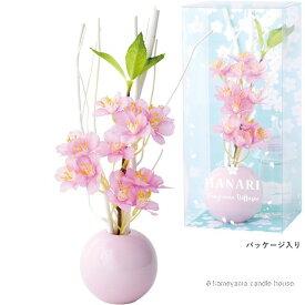 はなりディフューザー チェリーピンク 桜の香り かわいい ディフューザー ギフト カメヤマ