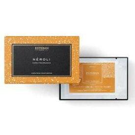 【メール便対応】ESTEBAN エステバン カードフレグランス Card Fragrance 名刺香 匂い袋 ネロリ Neroli オレンジフラワー/ホワイトフローラルの香り 橙 だいだい 新社会人プレゼント オフィス ビジネス ギフト プレゼント