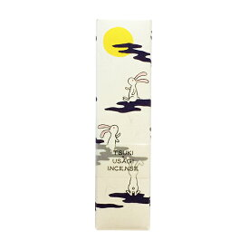 お香 スティック インセンス かわいい 縁起物 ENGIMONO 月うさぎ 約50本入 月見 兎 MOON プレゼント プチギフト