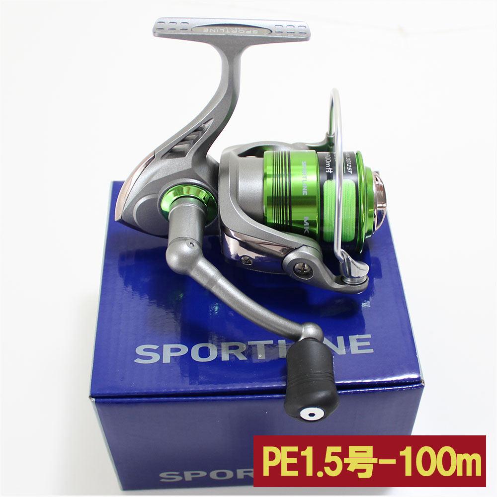 グローブライド(ダイワ) スポーツライン MK V-MAX 3012ST PEライン1.5号100m付き 60サイズ (hd-076340) スピニングリール 釣具 釣り スピニング リール シーバス フィッシング