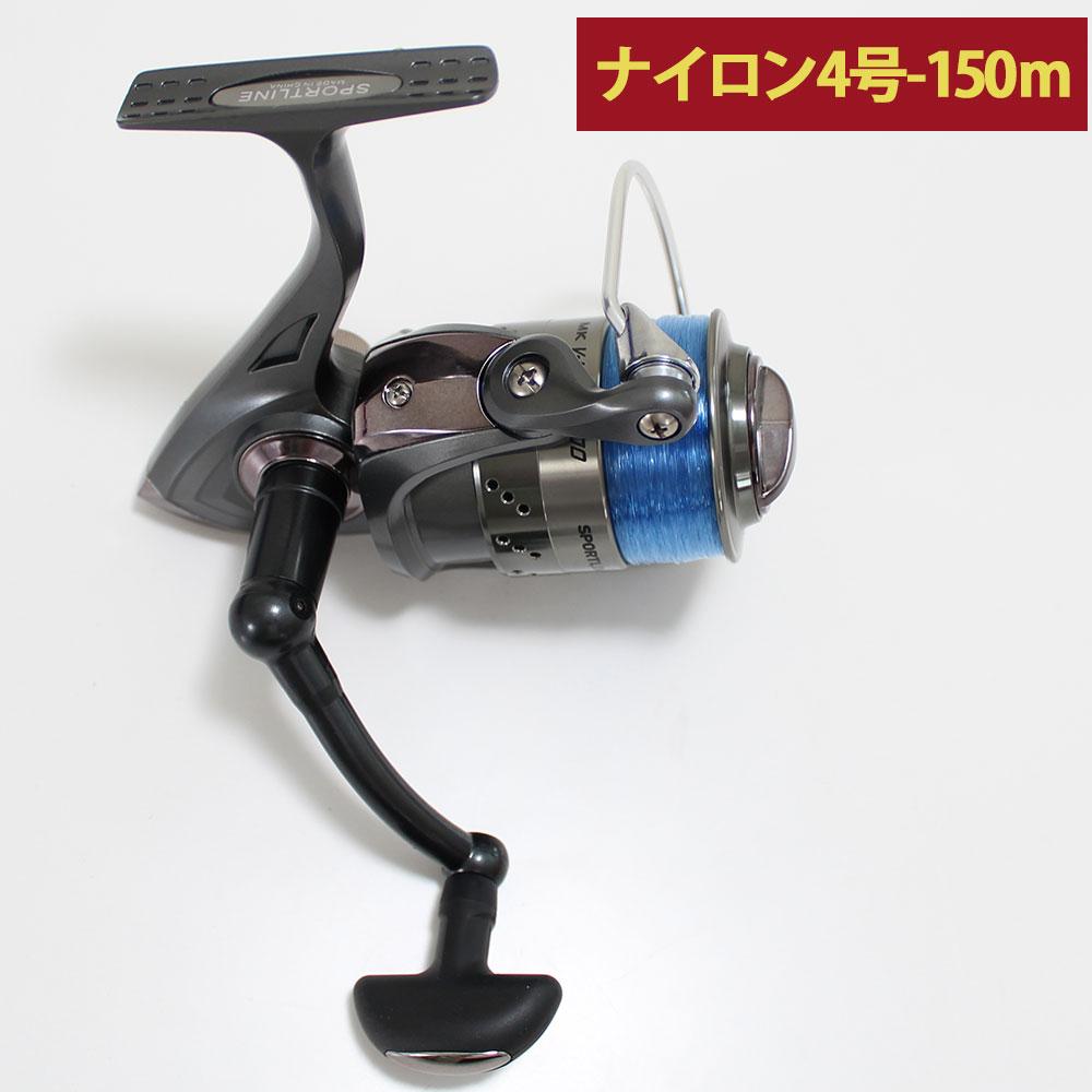 グローブライド(ダイワ) スポーツライン MK V-MAX 3000 ナイロン糸4号150m付き 60サイズ (hd-076395) スピニングリール|釣具 釣り スピニング リール