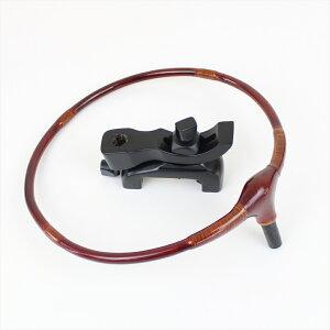 ダイシン 透塗り 加工玉置 黒 弓式万力 (20118)|ヘラブナ用品 玉置 フラシ