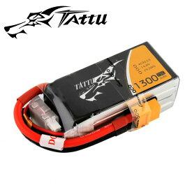 TATUU製 14.8V 1300mAh 75C 4S 高性能 バッテリー ワルケラ F210 F2103D Furious215 DTS Q180 Q220 対応 (ta-75c-1300-4s1p-xt60)|ラジコンヘリ関連商品 ドローン