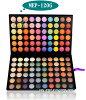 专业眼影调色板,彩妆,眼睛调色板 120 颜色 MEP 120 # 02 (眼影)