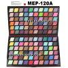 プロ仕様アイシャドウパレット、メイクパレット、アイズパレット120色 MEP-120A  P25Apr15