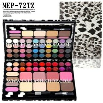 Eye shadow, teak, lip, 72 colors of actress make palette Aizu palette MEP-72TZ