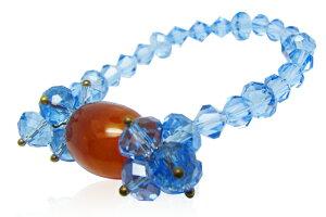 パワーストーンブレス 水晶 ブレスレットBRA-014