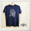 Johnson Motors【 ジョンソン・モーターズ 】半袖LOGO T-Shirts『 CYCLE HEAD 』color【 NAVY 】ネイビーバイカー Saf…