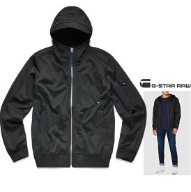 ★G-STAR RAW【 ジースターロウ 】City Zip Softshell JacketHOODED ZIP OVERソフトシェル・ジャケットcolor:【 Dark Black 】ブラック