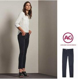 AG Lady's【 アドリアーノゴールドシュミット 】【 PRIMA 】Cigarette LegSULFUR BLACK・コーデュロイ・スキニー・デニムcolor:050【SBA】ブラック