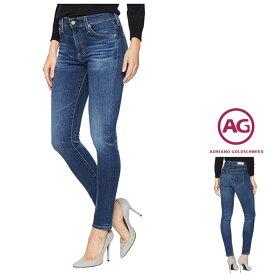 AG Lady's【アドリアーノゴールドシュミット】【STILT CROP 5Year indigo Avenue】CIGARETTE SLIM LEGスリム・クロップ丈 デニムcolor:【D10】5 YEARSIndigo Blue (ダークブルー)