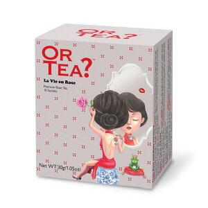 OR TEA? オアティー 【ラビアンローズ】 ティーバッグ 10個入り ローズティー 紅茶 ギフト プレゼント かわいい 可愛い おしゃれ ortea プチギフト 水出し 茶葉 お茶 おちゃ パック ローズ ローズ