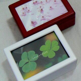 天板ガラスクローバー桜