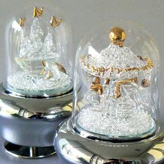 光ドームオルゴール(メリーゴーランド/帆船)