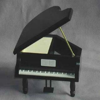 グランドピアノ黒あける