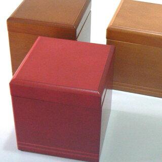 シンプルボックス無地茶3色