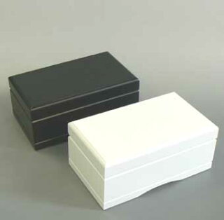 333曲以上から選べる!宝石箱オルゴール中(2色赤・茶・黒・白)【18弁曲目選択オルゴール】プレゼント