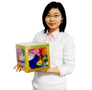 8 inch Crystal Clear Cube - Large 8インチクリスタルクリアキューブ - ラージ|イリュージョン,大阪マジック,マジック,手品,販売,ショップ,マジシャン,大阪,osaka,magic
