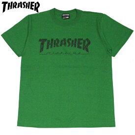 スラッシャー THRASHER ALLOVER HOMETOWN TEE(グリーン 緑 GREEN)スラッシャーTシャツ THRASHERTシャツ スラッシャーマグロゴ THRASHERマグロゴスラッシャーMAGLOGO THRASHERMAGLOGO 半袖 MAG LOGO マグロゴ