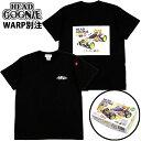 ヘッドグーニー HEADGOONIE x WARP RACING BUGGY T-SHIRTS(ブラック 黒 BLACK)ヘッドグーニーTシャツ HEADGOONIETシャツ ヘッドグーニ…