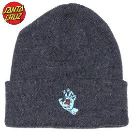 サンタクルーズ SANTA CRUZ SCREAMING HAND BEANIE(ネイビー NAVY)サンタニット帽 SANTACRUZニット帽 サンタビーニー SANTACRUZビーニー サンタク帽子 SANTACRUZ帽子 スクリーミングハンド