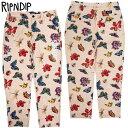 送料無料 リップンディップ RIPNDIP MONARCH PANTS(MULTI)リップンディップパンツ リッピンディップパンツ リップンディップ総柄パンツ