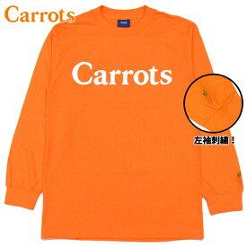 キャロッツ Carrots WORDMARK LONGSLEEVE T-Shirt(CARROT)キャロッツロングTシャツ CarrotsロングTシャツ キャロッツロンT CarrotsロンT キャロッツ長袖 Carrots長袖 carrots CARROTS