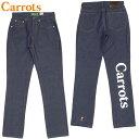 送料無料 キャロッツ Carrots WORDMARK DENIM(INDIGO)キャロッツデニム Carrotsデニム キャロッツパンツ Carrotsパンツ キャロッツボト…