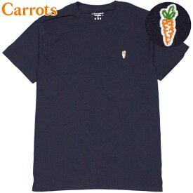 キャロッツ Carrots CHAMPION CARROT CHEST HIT T-SHIRT(ネイビー NAVY)キャロッツTシャツ CarrotsTシャツ キャロッツ半袖 Carrots半袖 チャンピオン CHAMPION