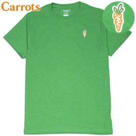 キャロッツ Carrots CHAMPION CARROT CHEST HIT T-SHIRT(グリーン 緑 GREEN)キャロッツTシャツ CarrotsTシャツ キャロッツ半袖 Carrots半袖 チャンピオン CHAMPION