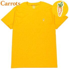 キャロッツ Carrots CHAMPION CARROT CHEST HIT T-SHIRT(GOLD)キャロッツTシャツ CarrotsTシャツ キャロッツ半袖 Carrots半袖 チャンピオン CHAMPION