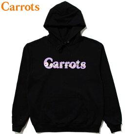 送料無料 キャロッツ Carrots WORDMARK HOODIE(ブラック 黒 BLACK)キャロッツパーカ Carrotsパーカ キャロッツプルオーバー Carrotsプルオーバー チャンピョン CHAMPION