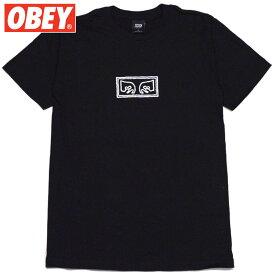 オベイ OBEY OBEY EYES BASIC TEES(ブラック 黒 BLACK)オベイTシャツ OBEYTシャツ オベイ半袖 OBEY半袖