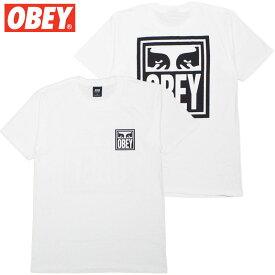 オベイ OBEY OBEY EYES ICON BASIC TEES(ホワイト 白 WHITE)オベイTシャツ OBEYTシャツ オベイ半袖 OBEY半袖
