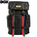 送料無料 ディージーケー DGK PRIMO BACKPACK(ブラック 黒 BLACK)ディージーケーバックパック DGKバックパック ディージーケーリュック…
