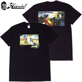 ハオミン HAOMING KENNY OMEGA×GUILTY GEAR Xrd REV 2×HAOMING Tshirt(ブラック 黒 BLACK)ハオミンTシャツ HAOMINGTシャツ ハオミン半袖 HAOMING半袖