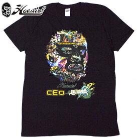 ハオミン HAOMING CEO×GUILTY GEAR Xrd REV 2×HAOMING Tshirt(ブラック 黒 BLACK)ハオミンTシャツ HAOMINGTシャツ ハオミン半袖 HAOMING半袖