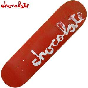 チョコレート CHOCOLATE ORIGINAL CHUNK 14 DECK(レッド 赤 RED)チョコレートスケボー CHOCOLATEスケボー チョコレートデッキ CHOCOLATEデッキ チョコレートスケートボード CHOCOLATEスケートボード