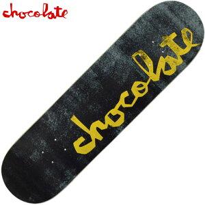 チョコレート CHOCOLATE ORIGINAL CHUNK 14 DECK(ブラック 黒 BLACK)チョコレートスケボー CHOCOLATEスケボー チョコレートデッキ CHOCOLATEデッキ チョコレートスケートボード CHOCOLATEスケートボード