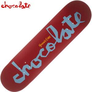 【ラスト1点】チョコレート CHOCOLATE OG CHUNK 15 DECK(レッド 赤 RED CRUZ)チョコレートスケボー CHOCOLATEスケボー チョコレートデッキ CHOCOLATEデッキ チョコレートスケートボード CHOCOLATEスケートボー