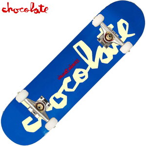 【7.75inch ラスト1点】チョコレート CHOCOLATE PRICE POINT COMPLETES(ブルー 青 BLUE)チョコレートコンプリートデッキ CHOCOLATEコンプリートデッキ チョコレートスケボー CHOCOLATEスケボー チョコレートデ