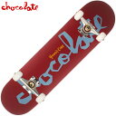 【8inch ラスト1点】チョコレート CHOCOLATE PRICE POINT COMPLETES(レッド 赤 RED)チョコレートコンプリートデッキ CHOCOLATEコンプリ…