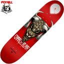 パウエル POWELL CHARLIE BLAIR GOAT015 DECK(レッド 赤 RED)パウエルデッキ POWELLデッキ パウエルスケートボード PO…