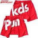 パンクドランカーズ PUNK DRUNKERS BIGロゴサルエルショートパンツ(レッド 赤 RED)パンクドランカーズサルエルショーツ PUNK DRUNKERS…