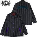 送料無料 ローリングクレイドル ROLLING CRADLE STRIPE COACH JACKET(ブラック 黒 BLACK)ローリングクレイドルコーチジャケット ロリク…