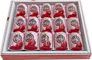 ホワイトデー 大阪 お土産 送料無料 【あわせて2980円以上購入で】 大阪 の いちご バウム 15個入 バレンタインデー バウムクーヘン ギフト バームクーヘン 個包装 お菓子 東京 名