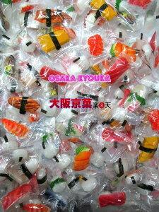 【メール便送料無料】大阪京菓ZRニューエスト 500gすしキャンディ×1袋 +税