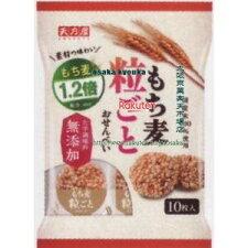 天乃屋10枚もち麦粒ごとおせんべい(10枚)×12個